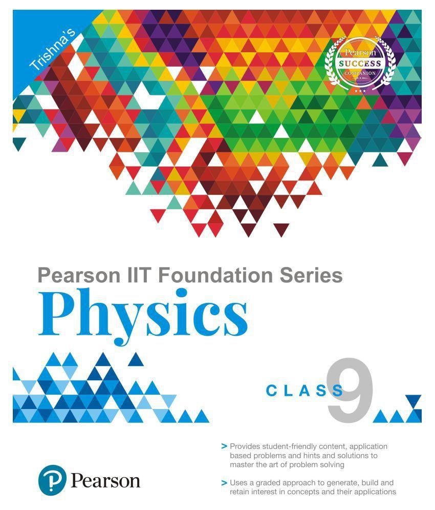Pearson IIT Foundation Physics Class 9: Buy Pearson IIT