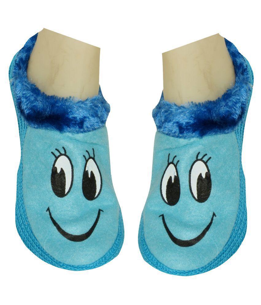 Neska Moda Blue Footies Socks