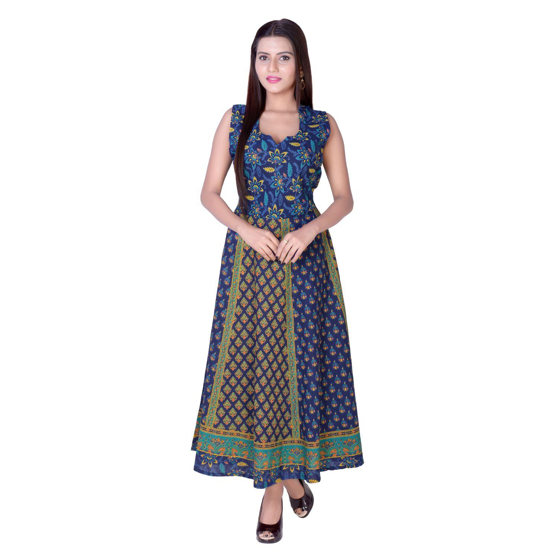 d3b39178079 fabcolors Cotton Blue Dresses - Buy fabcolors Cotton Blue Dresses Online at Best  Prices in India on Snapdeal