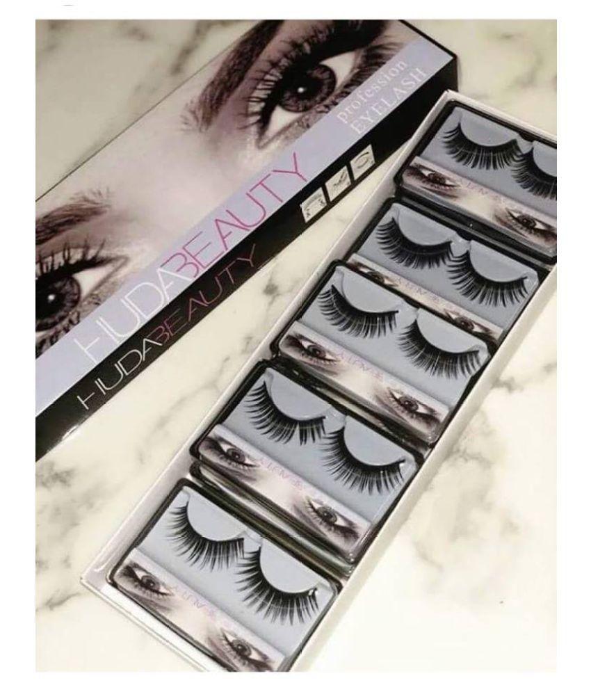 efcacb00217 Huda Beauty False Eyelashes Pack of 10: Buy Huda Beauty False Eyelashes  Pack of 10 at Best Prices in India - Snapdeal