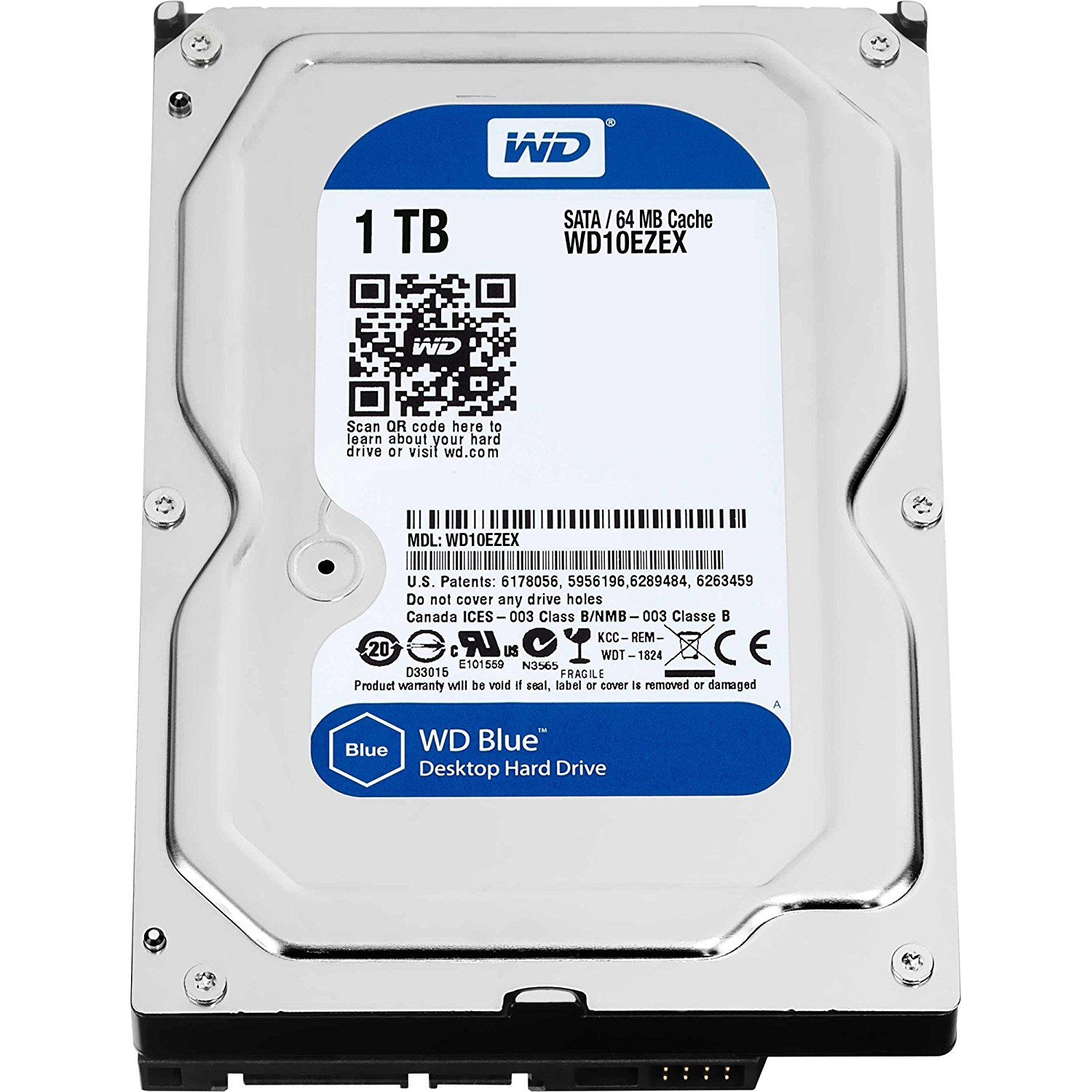 Western Digital WD10EZEX 1 TB Internal Hard Drive Internal Hard drive