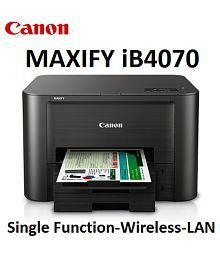 CANON MAXIFY Ib4070 High End Single Inkjet Printer