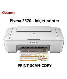 Canon PIXMA MG2570 Multi function (Print,Scan,Copy) All in One Inkjet Printer