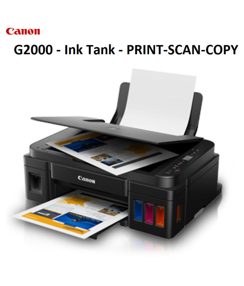 Canon G2010 Multi Function Colored Ink Tank Printer