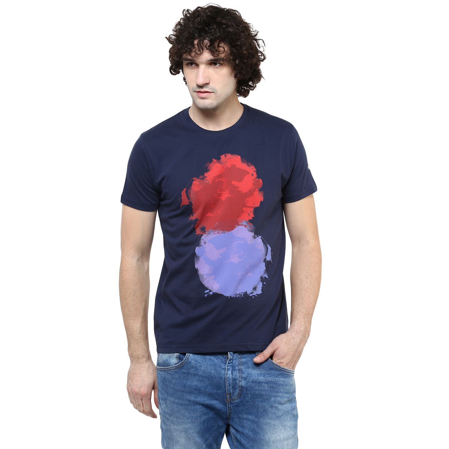 PRZM Navy Round T-Shirt Pack of 1