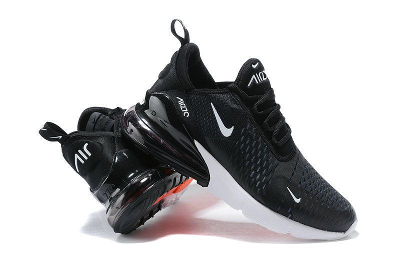 fe8402507f94 Nike Air Max 270 Black Running Shoes - Buy Nike Air Max 270 Black ...