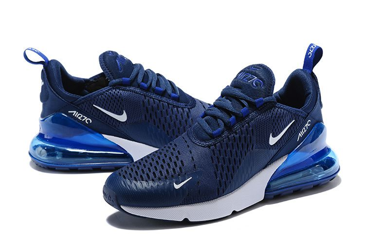 best website dc8af ccce5 Nike Flyknit Midnight Navy Blue Running Shoes
