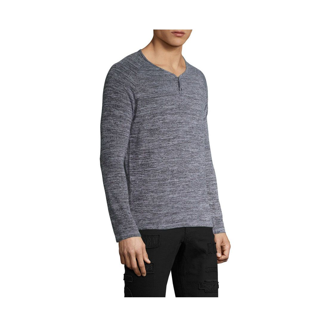 Geenoo Grey Round T-Shirt Pack of 1