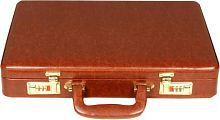 C Comfort Tan Small Briefcase