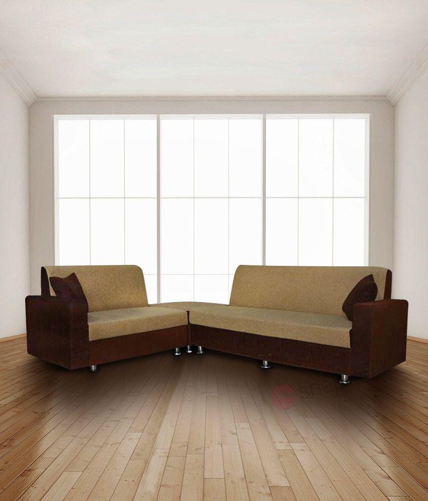 Price Of Corner Sofas: BLS Cosmo Corner 6 Seatar Sofa Set (3+2+C)