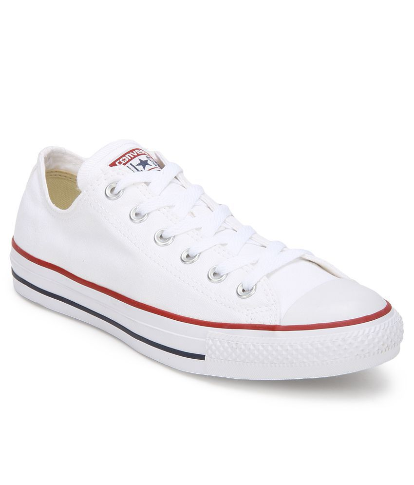 378c557042e Converse All Star Sneakers White Casual Shoes - Buy Converse All Star  Sneakers White Casual Shoes Online at Best Prices in India on Snapdeal