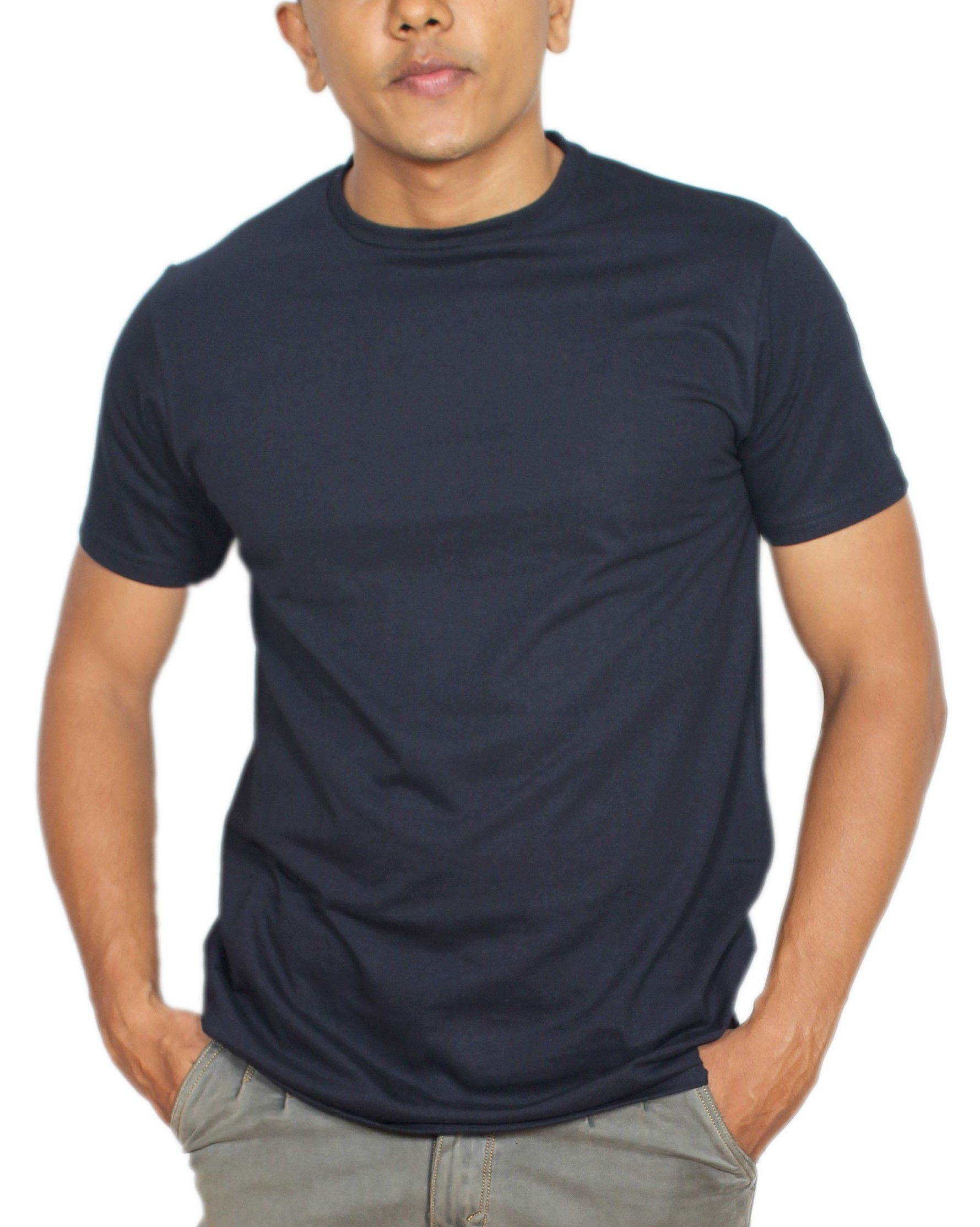 V SMIT Blue Round T-Shirt Pack of 1