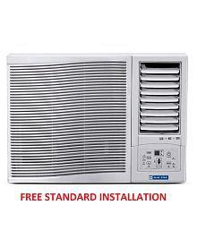 Blue Star 1 Ton 3 Star 3WAE121YD/3WAE121YDF Window Air Conditioner White(2016-17 BEE Rating) Free Standard Installation