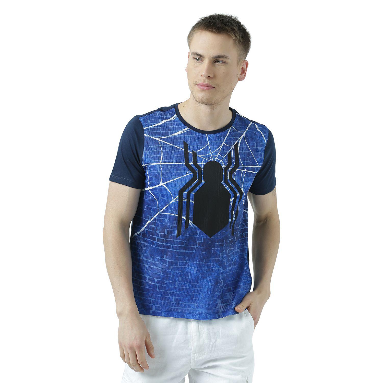 Marvel Spider-Man Navy Round T-Shirt Pack of 1
