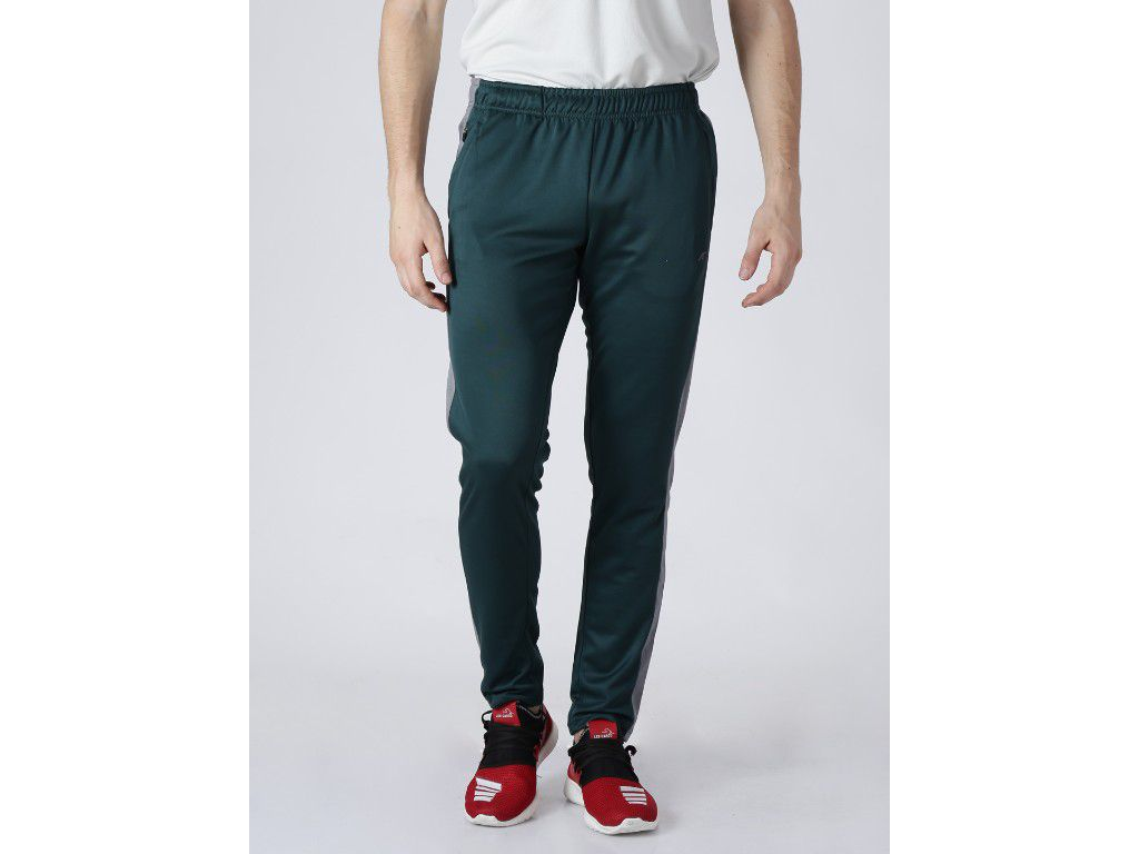 Alcis Mens Solid Green Trackpant