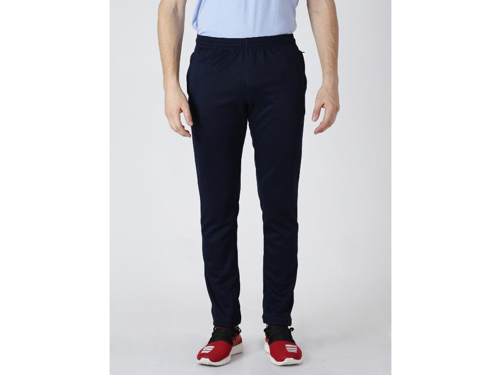 Alcis Mens Solid Navy Trackpant