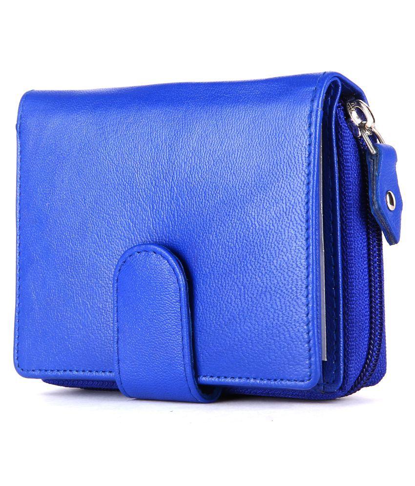 Seeku Blue Pure Leather Handheld