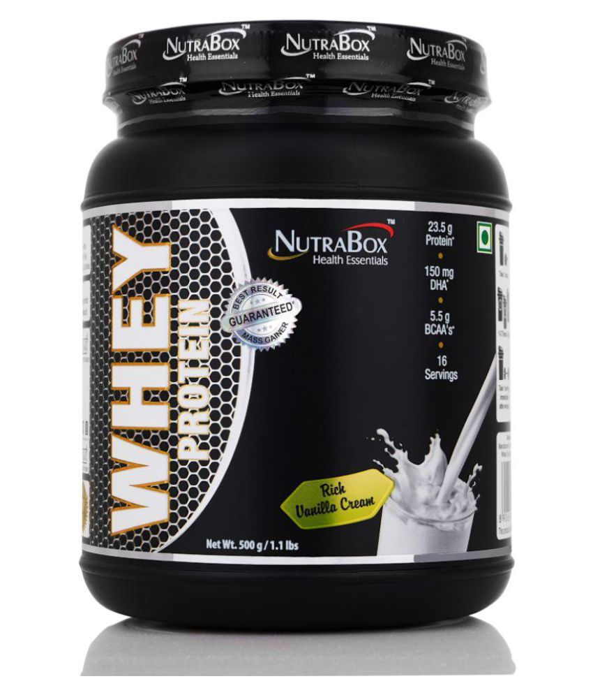 nutrabox whey protein 500 gm