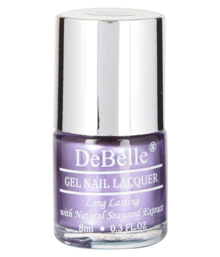 DeBelle Metallic Purple Nail Polish Chrome 8 ml