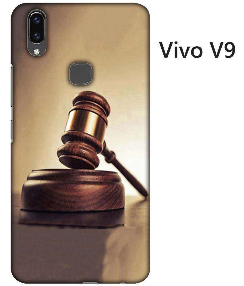 Vivo V9 Printed Cover By Blutec