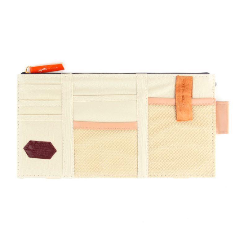 Aeoss Multi Pocket Organizer for Front Seat Side Beige