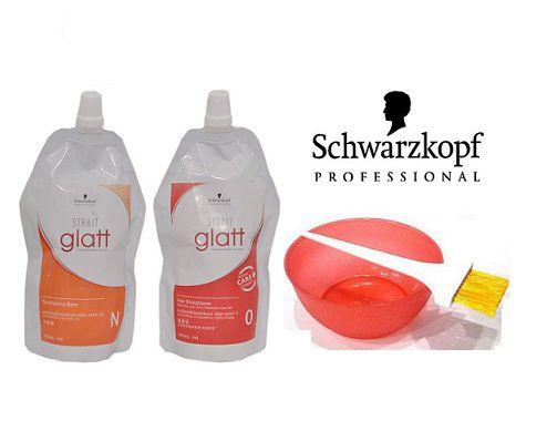 Schwarzkopf Glatt No 0 Professional Hair Straightener Hair Scalp