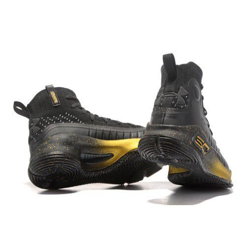 9154720d996 Under Armour STEPHEN CURRY 4 GOLD Black Basketball Shoes - Buy Under ...