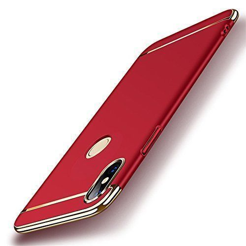aeea0cb595 Xiaomi Redmi Note 5 Pro Hybrid Covers JMA - Red 3 in 1 Design 360° Anti  Slip Super Slim Case - Plain Back Covers Online at Low Prices | Snapdeal  India