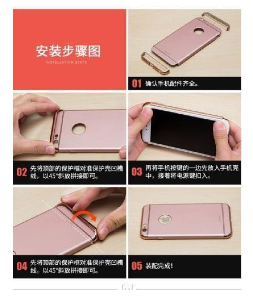 e19883554d ... Xiaomi Redmi Note 5 Pro Hybrid Covers JMA - Red 3 in 1 Design 360°