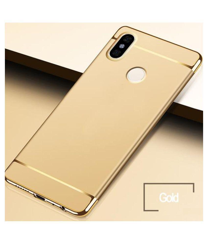 0dfda9dd35 ... Xiaomi Redmi Note 5 Pro Bumper Cases JMA - Golden 3 in 1 Design 360° ...