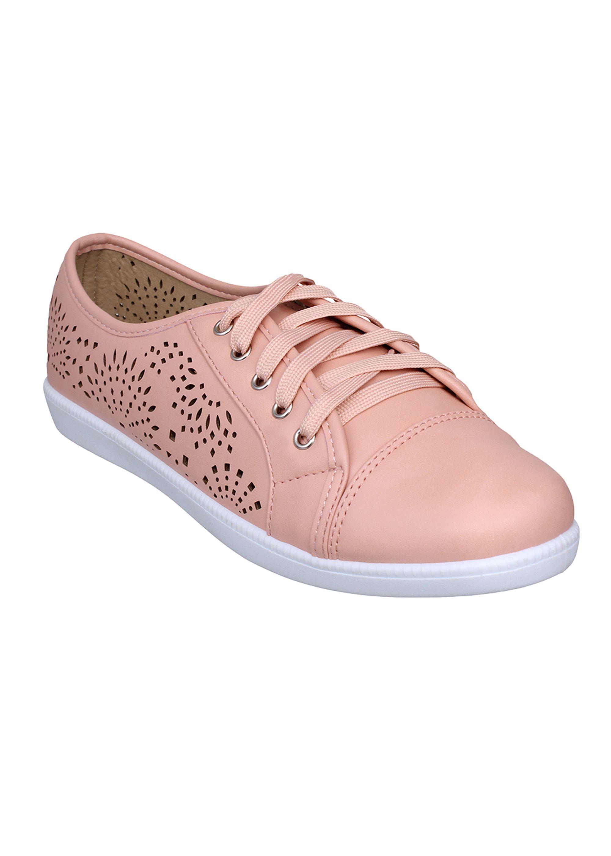 Flat n Heels Pink Casual Shoes