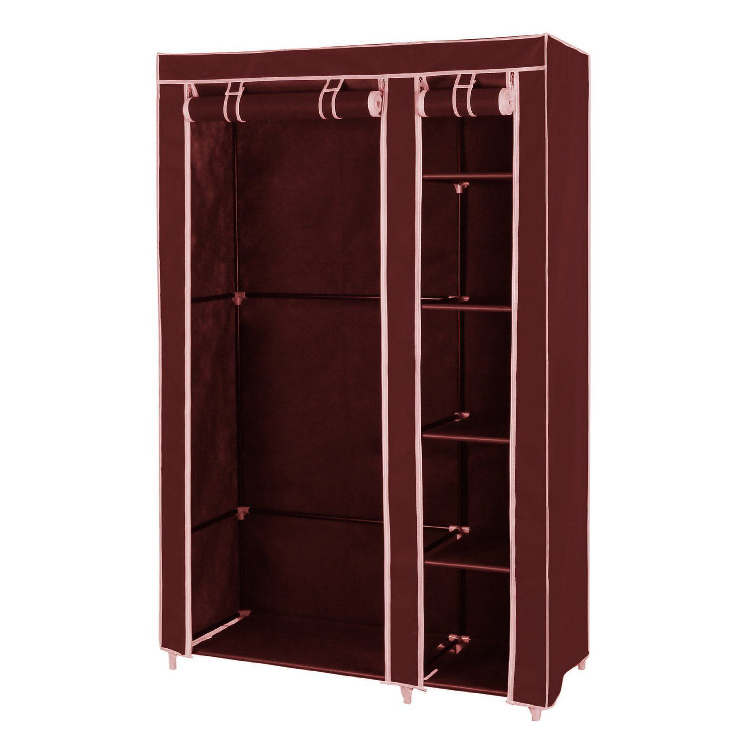 House of Quirk Fancy & Portable Foldable Closet Wardrobe Cabinet