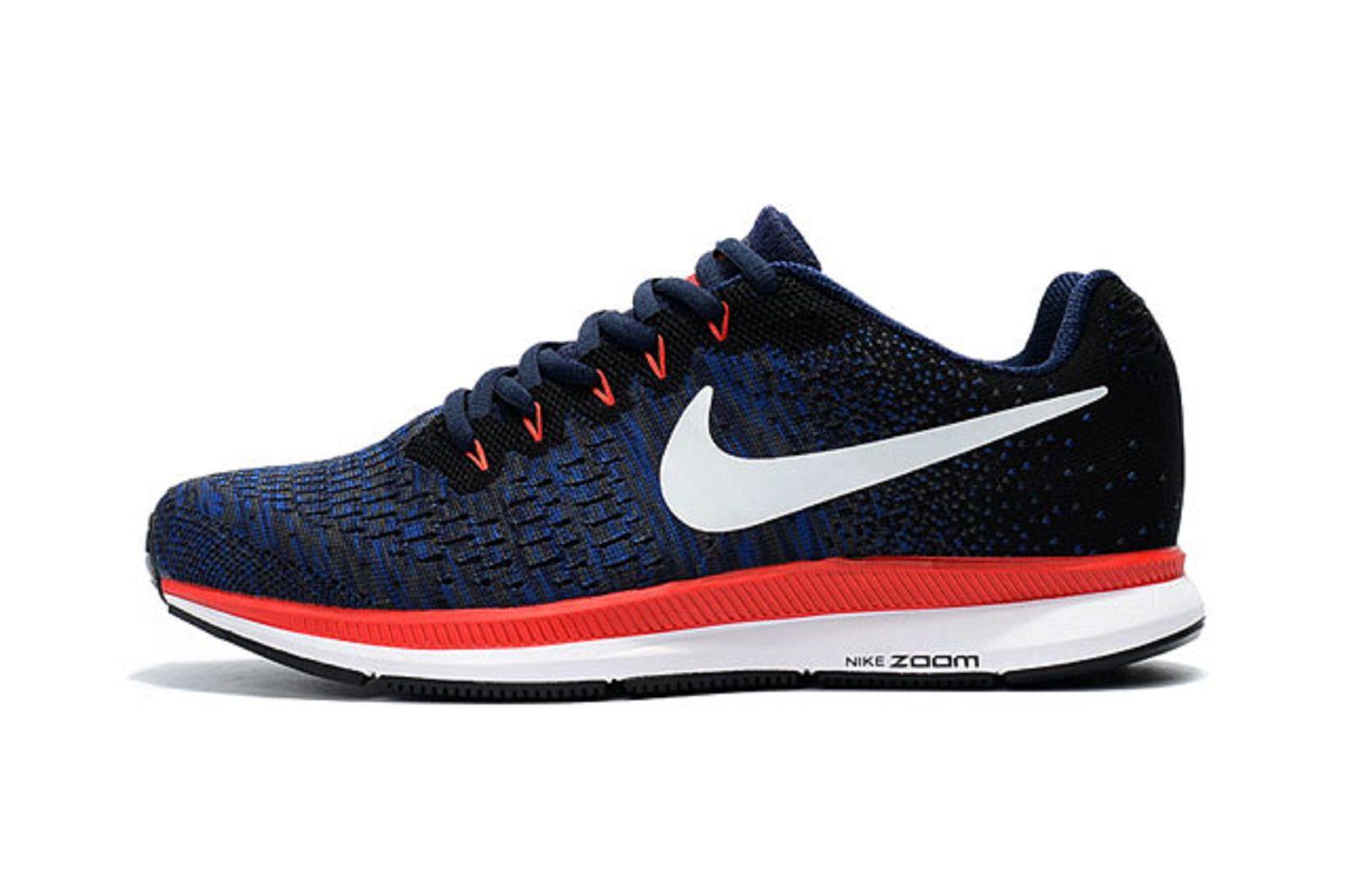 560ed6435f0a6 Nike Air Zoom Pegasus 33 Knite 2018 Blue Running Shoes - Buy Nike ...