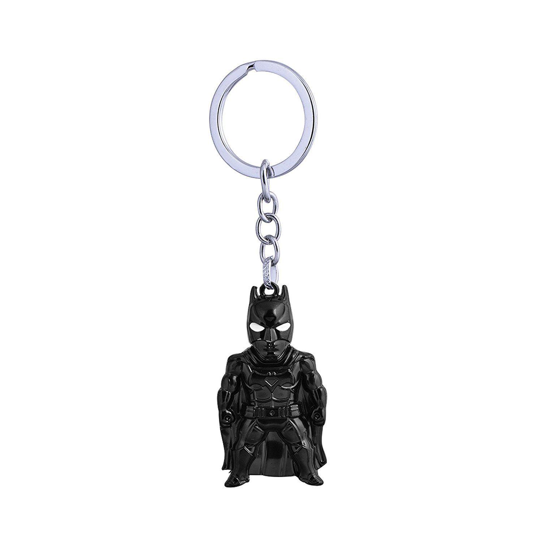Techpro Metal Keychain with Superhero Batman design