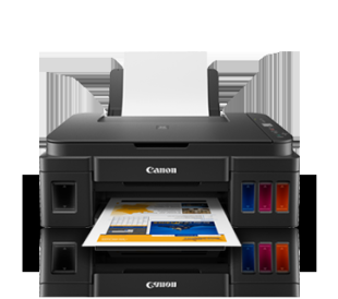 Canon Pixma G2010 + Wonder Box Multi Function Ink Tank