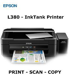 Epson L380 All-In-One Multi Function Colored Ink tank Printer