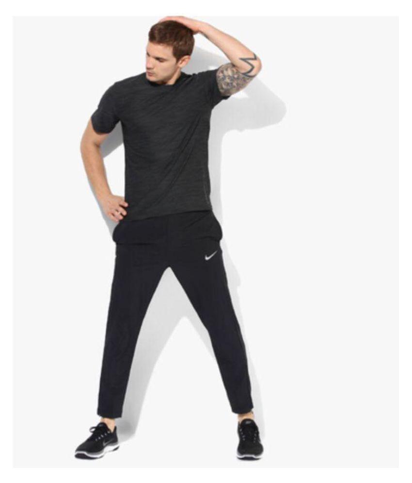 nike polyester lycra trackpants
