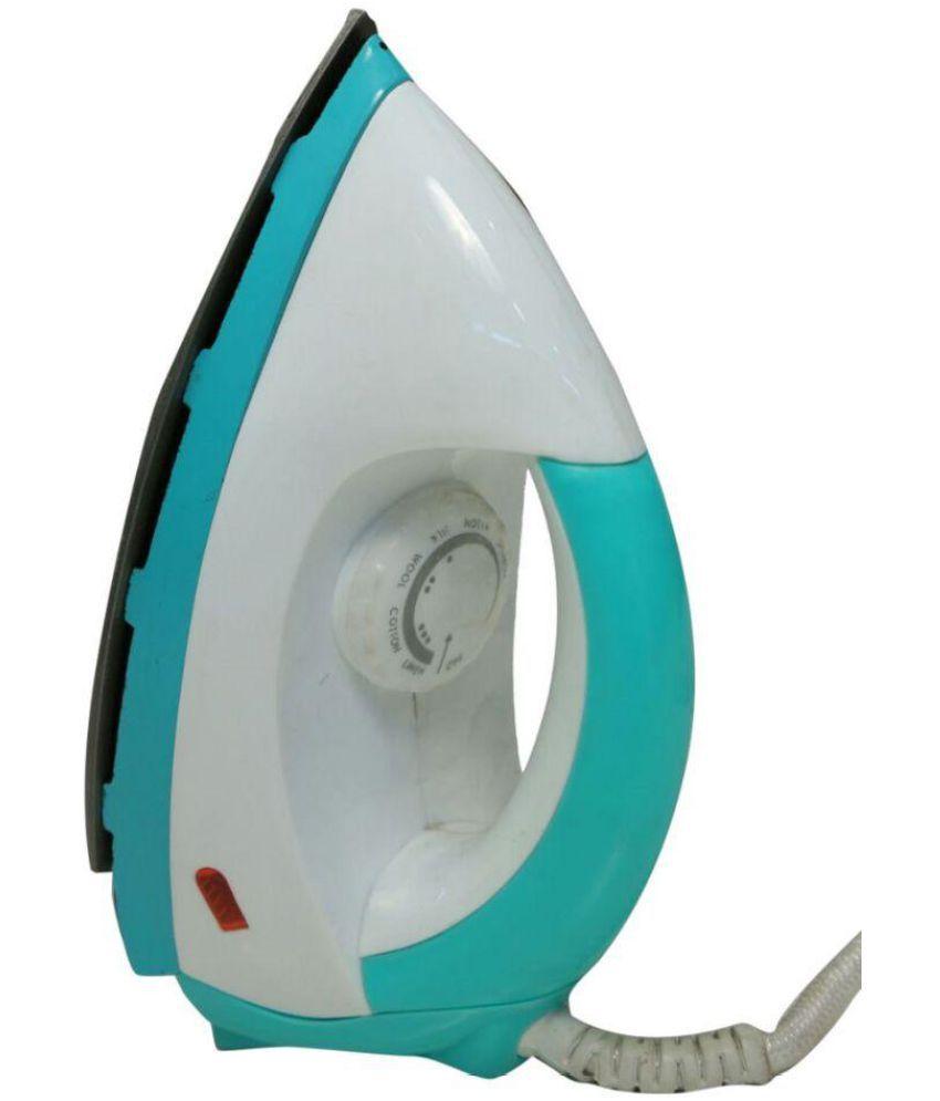 Ecoplus Creta Green Light Weight Iron Dry Iron White