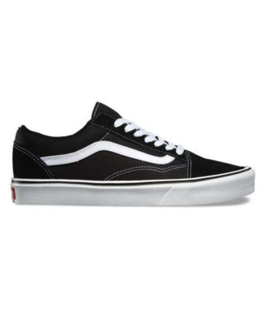 26133a0108 VANS OLD SKOOL FASHION Sneakers Black Casual Shoes - Buy VANS OLD ...