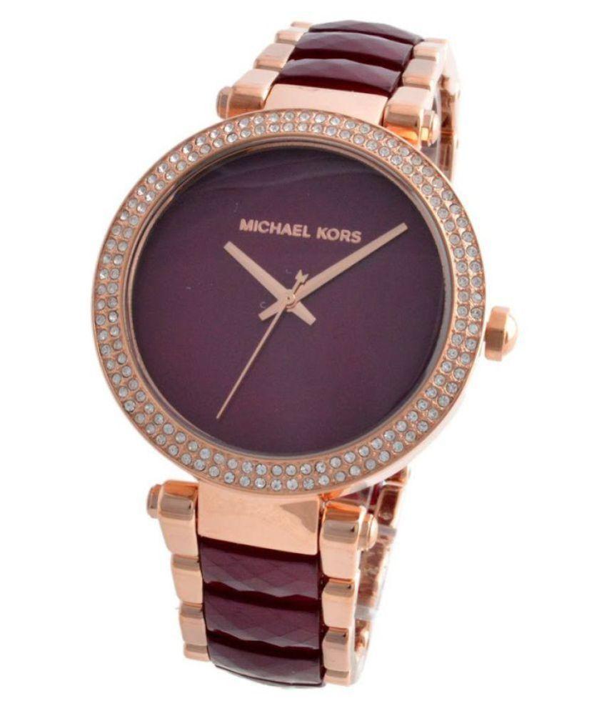 92df58928743 Noctem MK6412 Women s Parker Rose Gold-Tone Watch Price in India  Buy  Noctem MK6412 Women s Parker Rose Gold-Tone Watch Online at Snapdeal