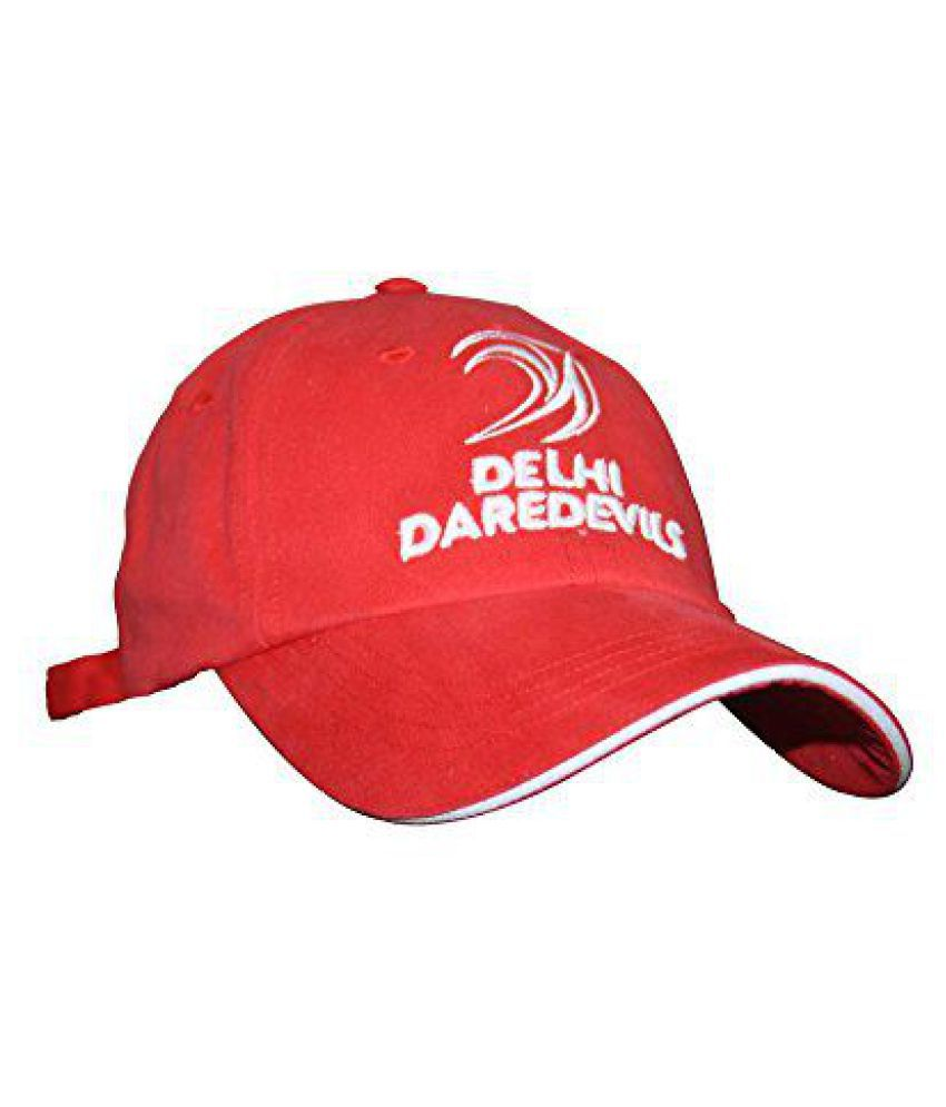 f6ea2c5eab6e04 Delhi Daredevils Red Cotton Caps - Buy Online @ Rs. | Snapdeal