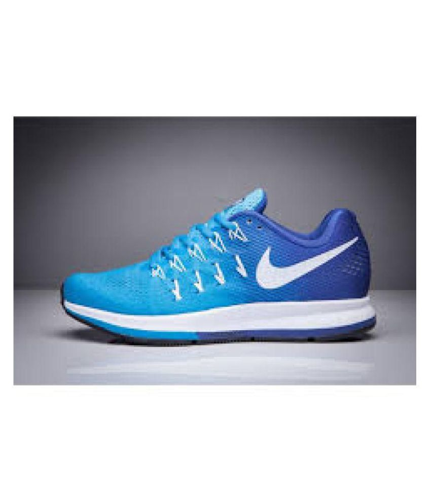 cbc8d269a Nike Air zoom 33 pegasus Blue Running Shoes - Buy Nike Air zoom 33 pegasus  Blue Running Shoes Online at Best Prices in India on Snapdeal