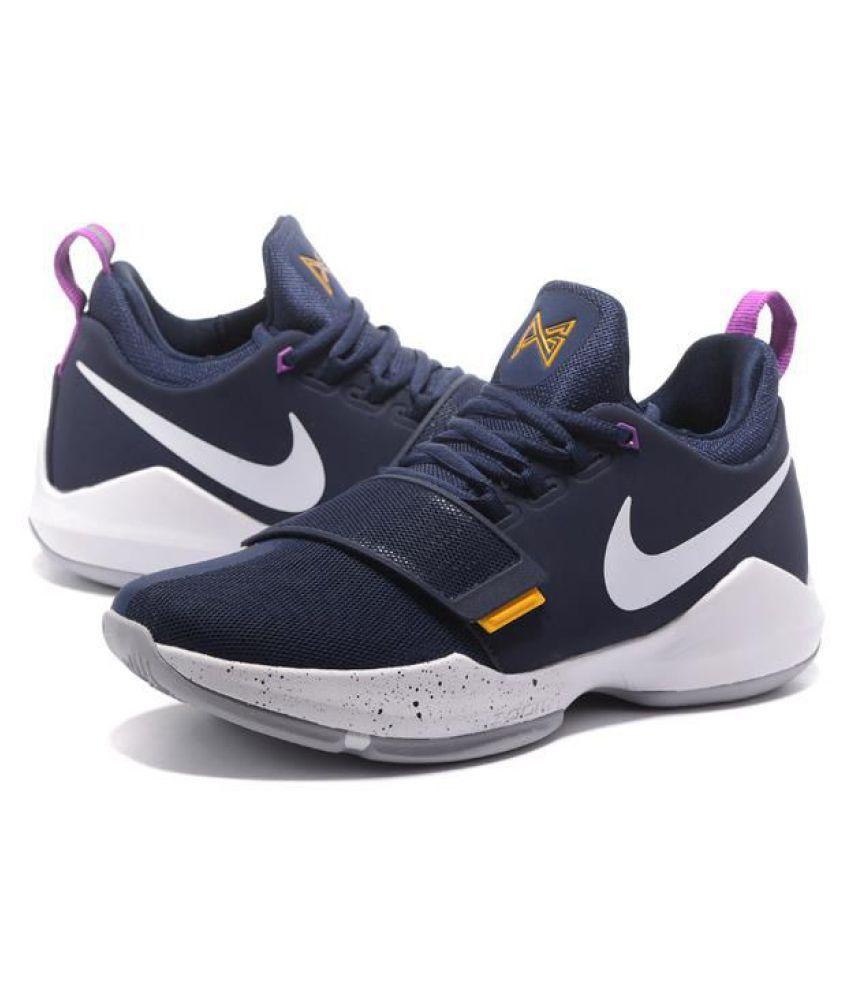 cheap for discount 8c49f de1bb Nike PG 1 PAUL GEORGE Black Basketball Shoes