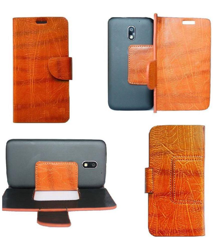 Samsung Galaxy A5 Flip Cover by Zocardo - Brown