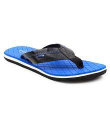 FUEL Men's & Boy's Stylish Flip Flops Blue Thong Flip Flop