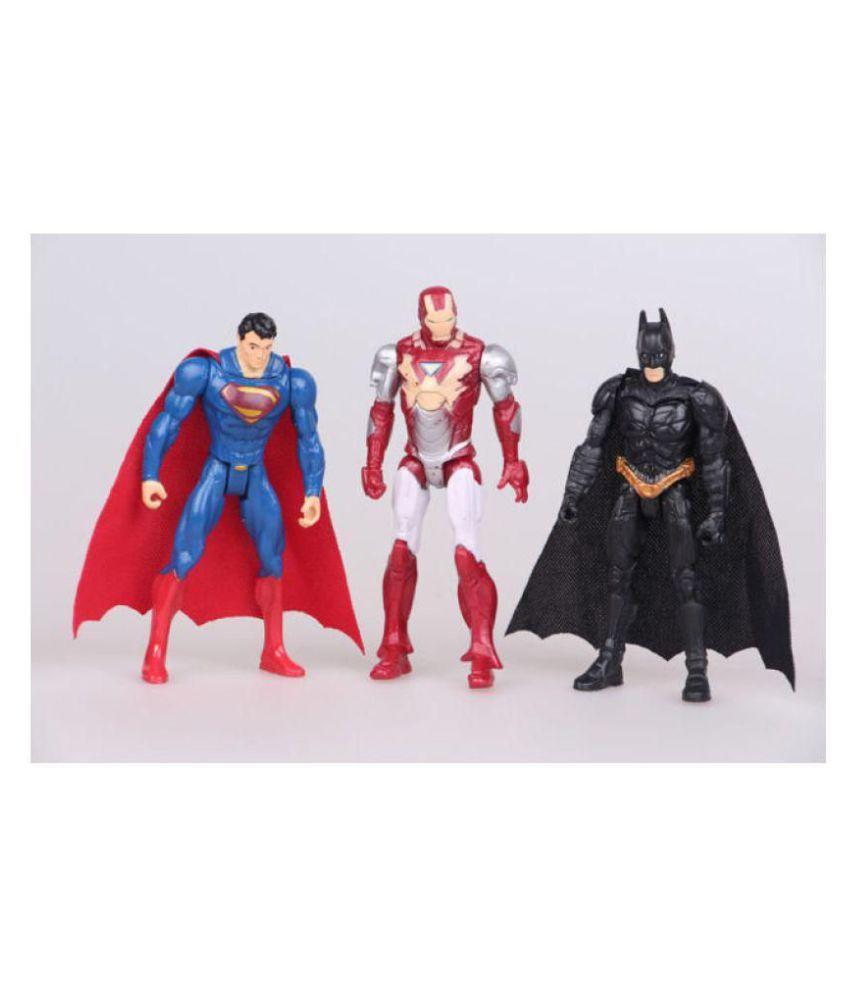 Figurki akcji i z filmów ACTION FIGURES MARVEL & DC THOR HULK IRON-MAN BATMAN SUPERMAN CAPRAIN AMERICA
