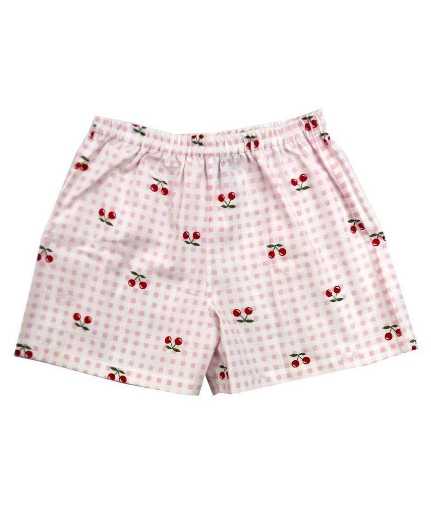 Always Kids Girls Pink Square Cherry