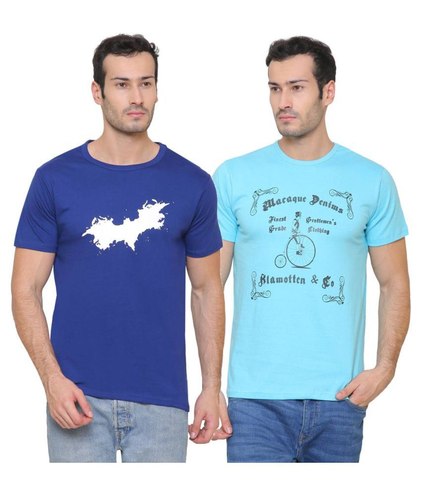 Klamotten Multi Round T-Shirt Pack of 2