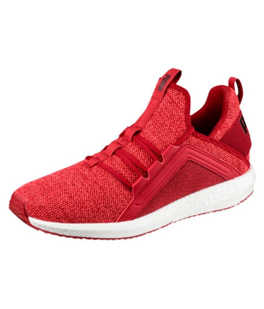601f31d6de9cc0 Puma Mega NRGY Knit Red Running Shoes - Buy Puma Mega NRGY Knit Red Running  Shoes Online at Best Prices in India on Snapdeal