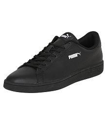 Puma Smash v2 L Perf Sneakers Black Casual Shoes